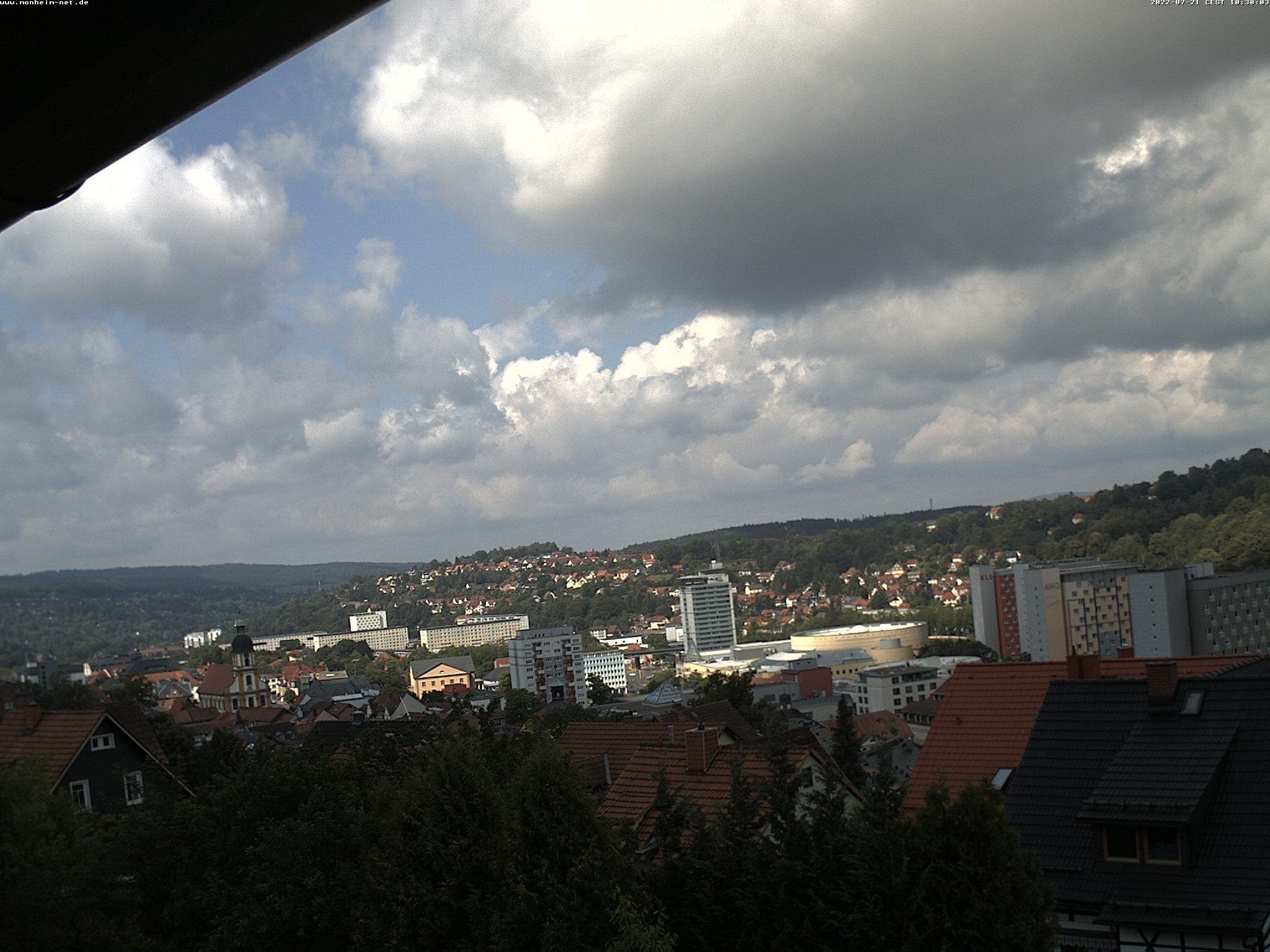 Webcam Skigebied Suhl - Goldlauter Innenstadt - Thüringer Woud